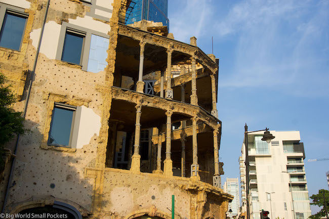 Lebanon, Beirut, Buildings