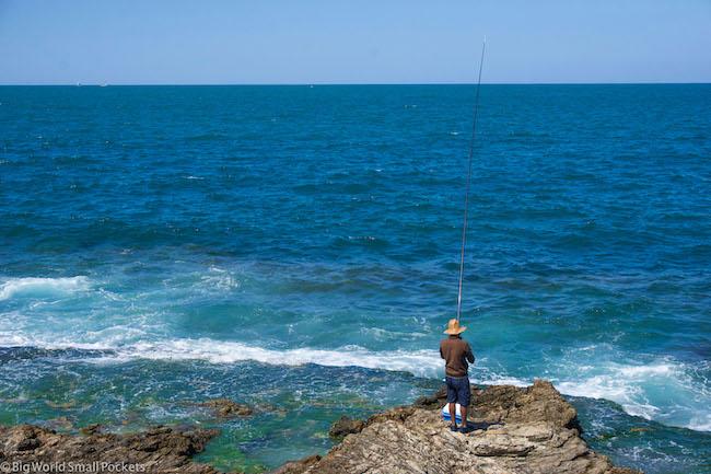 Lebanon, Beirut, Fisherman