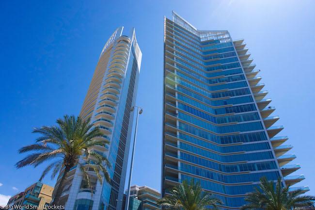 Lebanon, Beirut, Modern Buildings