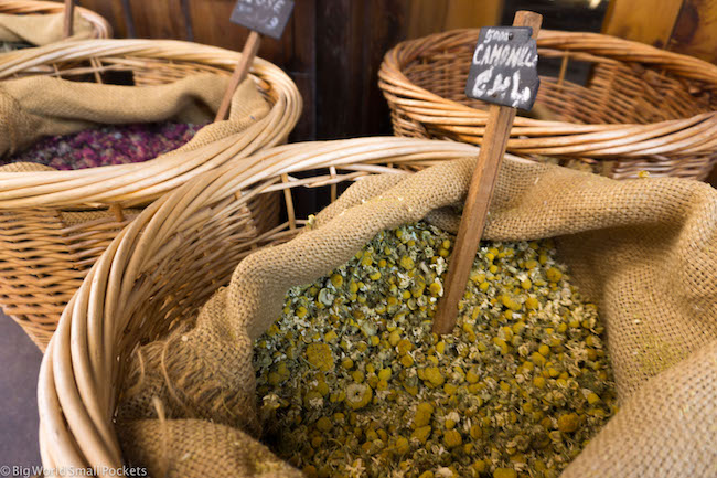 Lebanon, Byblos, Herbs