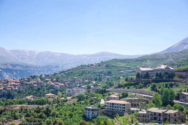 Lebanon, Cedars, Snow Mountains.