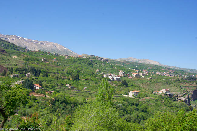 Lebanon, Cedars, Views