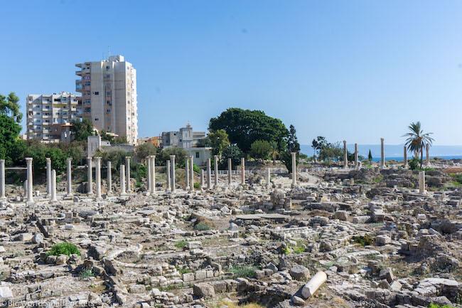 Lebanon, Sour, Roman Ruins