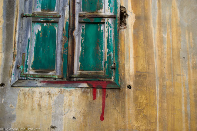 Lebanon, Tripoli, Window & Paint