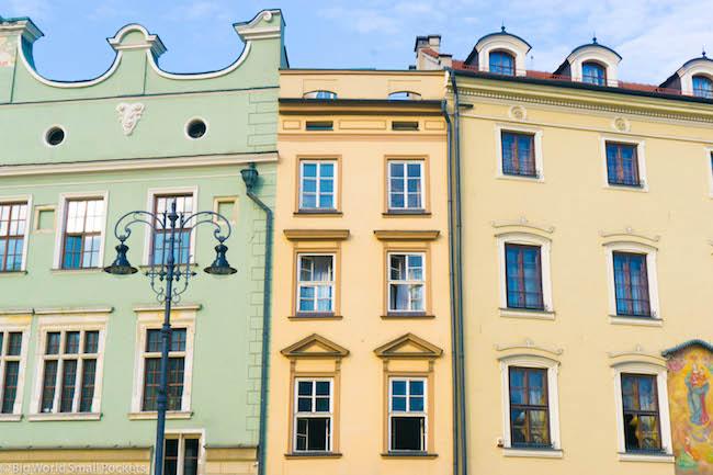 Poland, Krakow, Townhouses