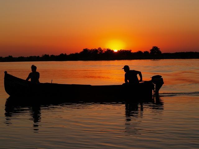 Romania, Danube Delta, Boat