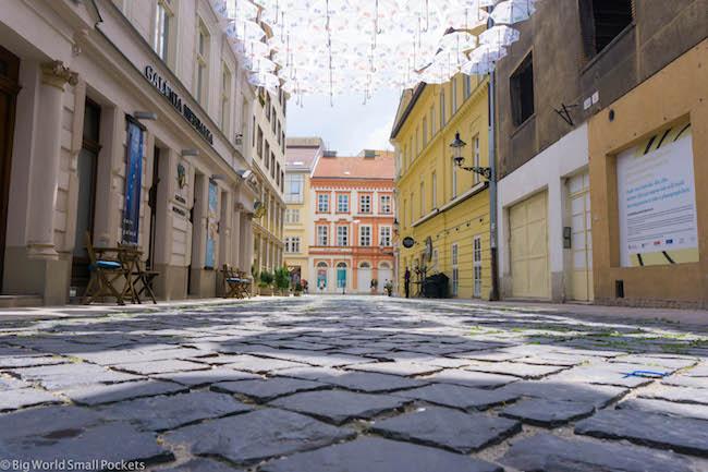 Slovakia, Bratislava, Nedbalova Street