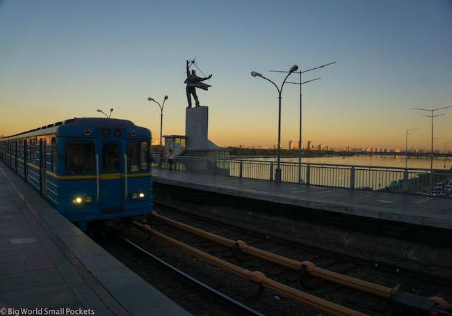 Ukraine, Kiev, Metro