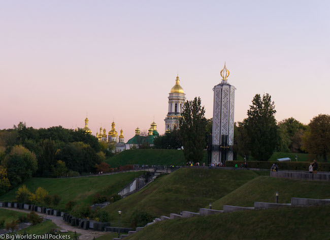 Ukraine, Kiev, Pechersk Lavra Hill