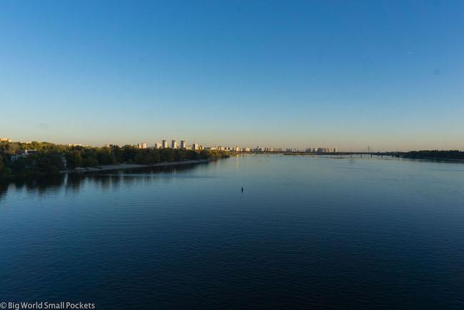 Ukraine, Kiev, River