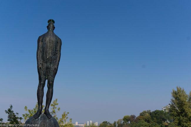 Ukraine, Kiev, Statue