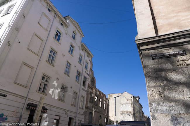 Ukraine, Lviv, Buildings