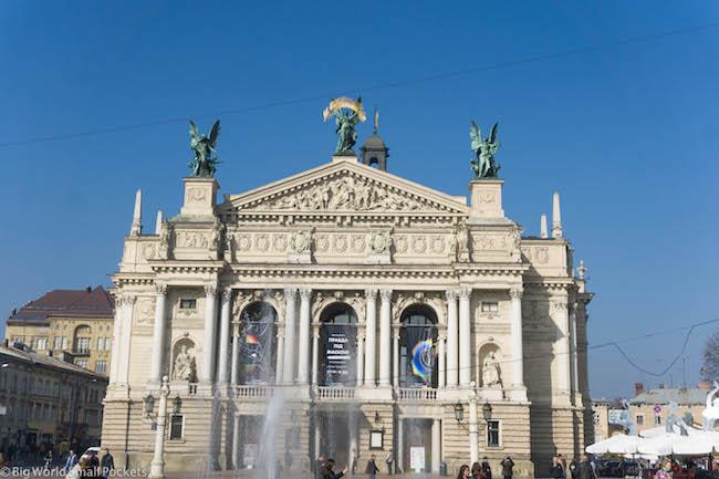 Ukraine, Lviv, Opera House