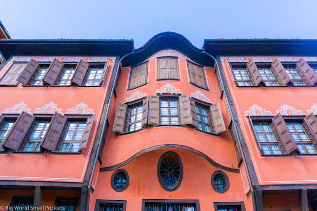 Bulgaria, Plovdiv, Pink House
