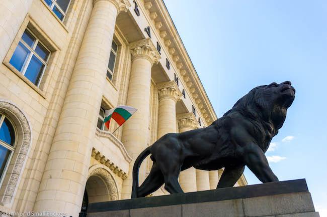 Bulgaria, Sofia, Palace of Justice