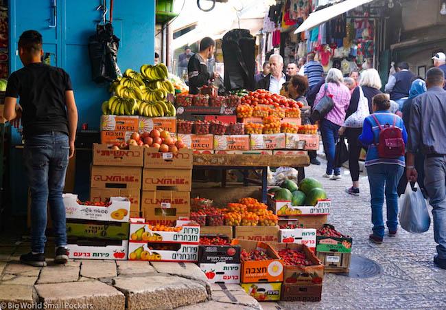 Israel, Jerusalem, Damascus Gate Market