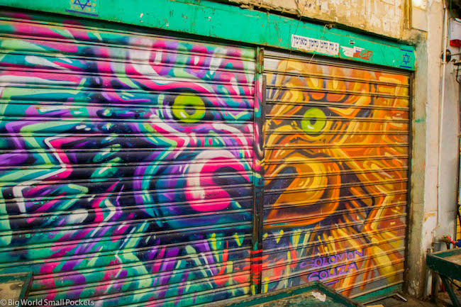 Israel, Jerusalem, Graffiti