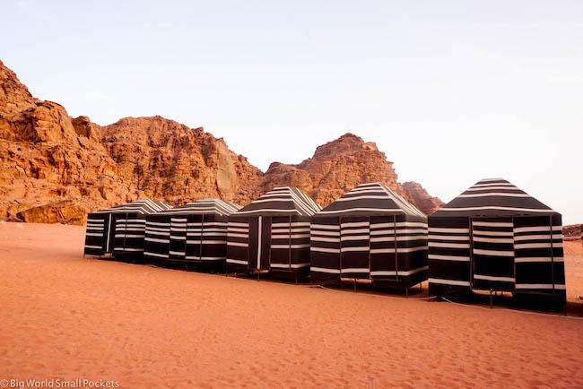 Jordan, Wadi Rum, Desert Camp