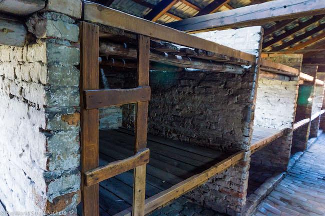 Poland, Auschwitz, Beds