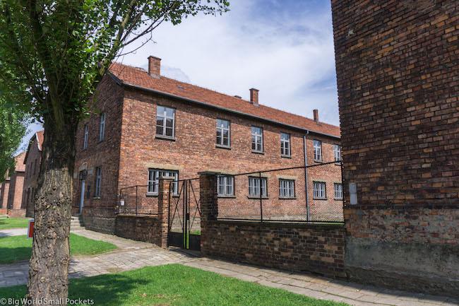 Poland, Auschwitz, Buildings