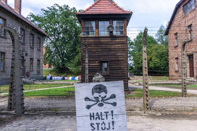Poland, Auschwitz, Tower