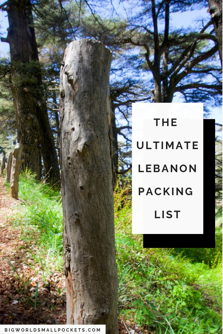 The Complete Lebanon Packing List {Big World Small Pockets}