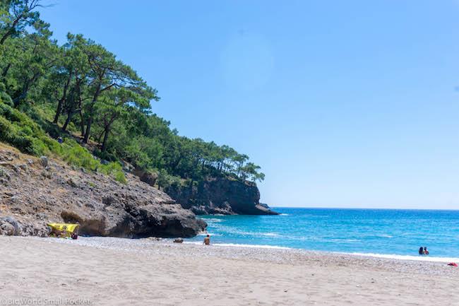 Turkey, Kabak, Beach