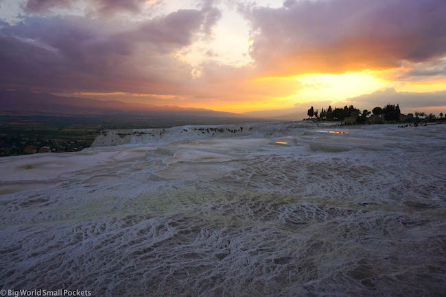 Turkey, Pamukkale, Sunset 5