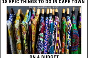 18 Things To Do in Cape Town on a Budget