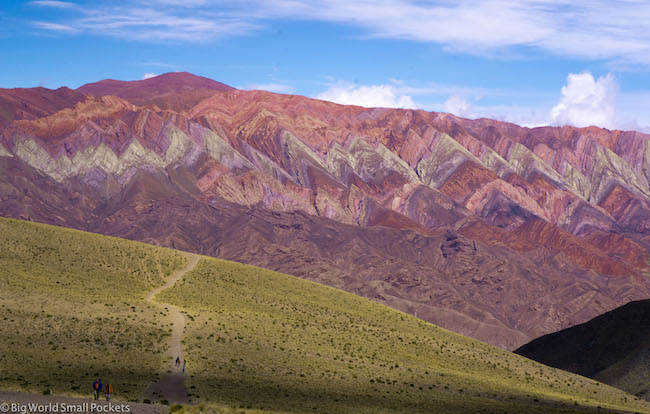 Argentina, Humahuaca, 14 Colour Mountain