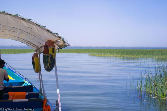 Ethiopia, Awasa, Boat Ride