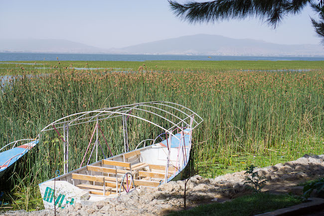 Ethiopia, Awasa, Boat