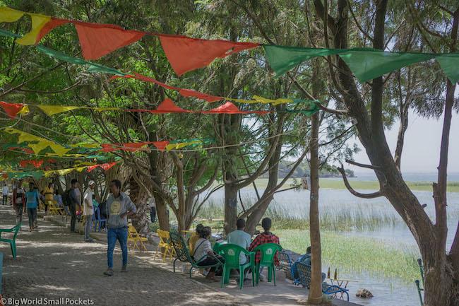 Ethiopia, Awasa, Lakeside