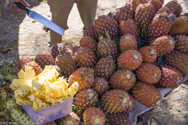 Ethiopia, Awasa, Pineapple