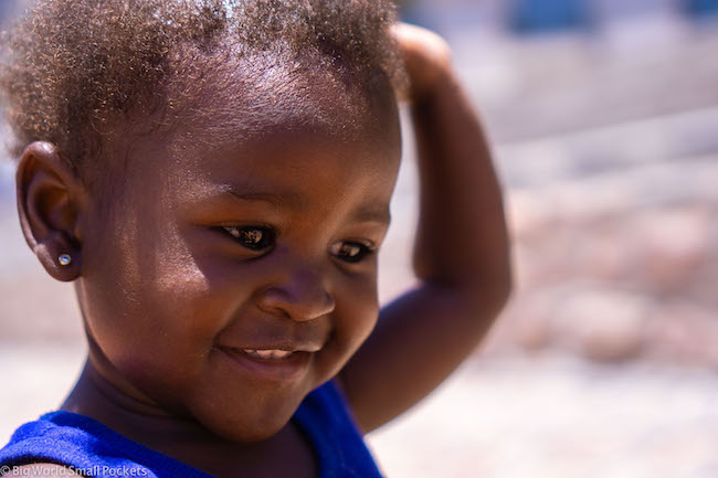 Africa, Namibia, Young Girl