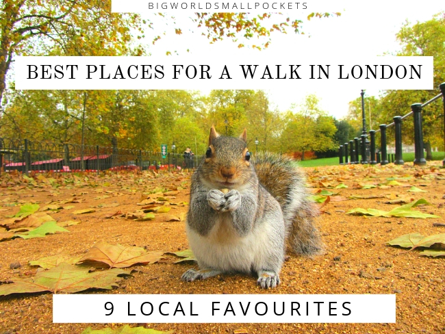 Best Places for a Walk in London