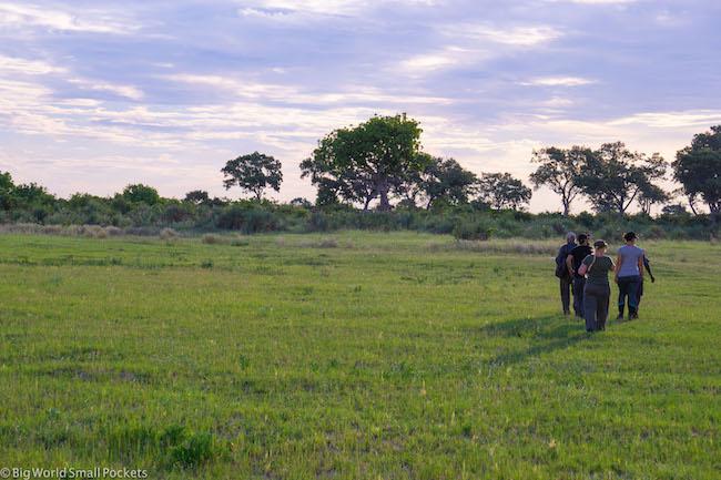 Botswana, Okavango Delta, Walking Safari