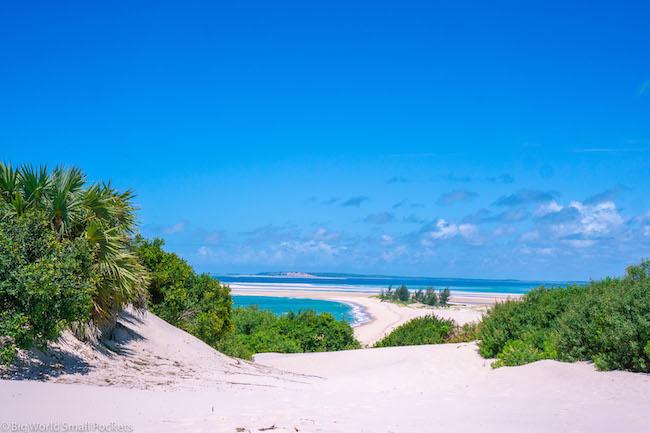 Mozambique, Bazaruto Archipelago, View