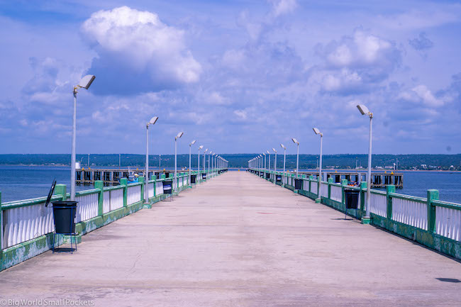 Mozambique, Inhambane, Pier,