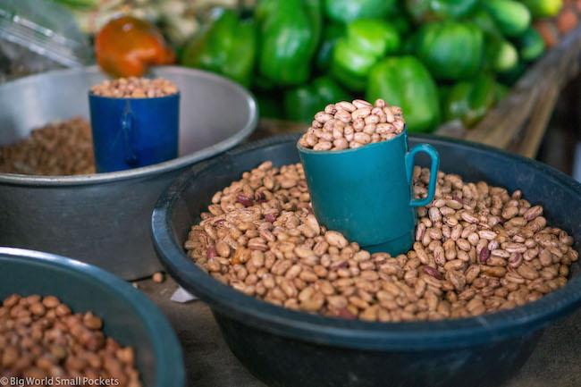 Mozambique, Maputo, Market Beans