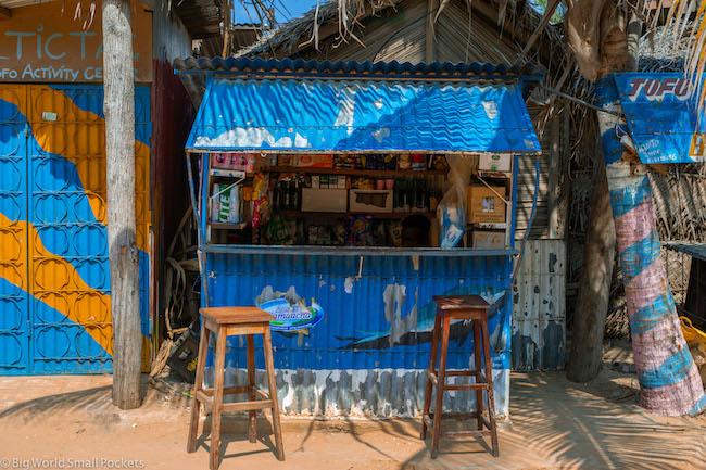 Mozambique, Tofo, Local Stall