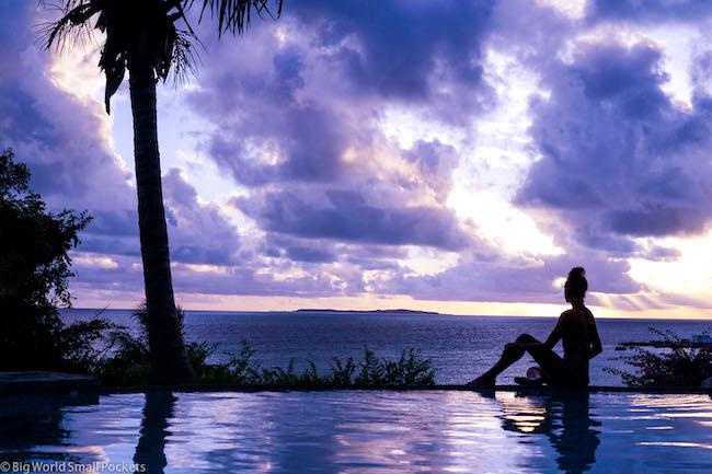 Mozambique, Vilanculos, Me & Infinity Pool
