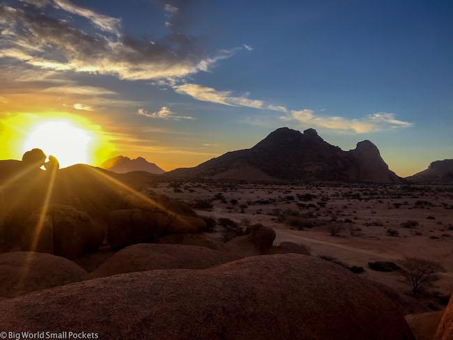 Namibia, Desert, Sunset