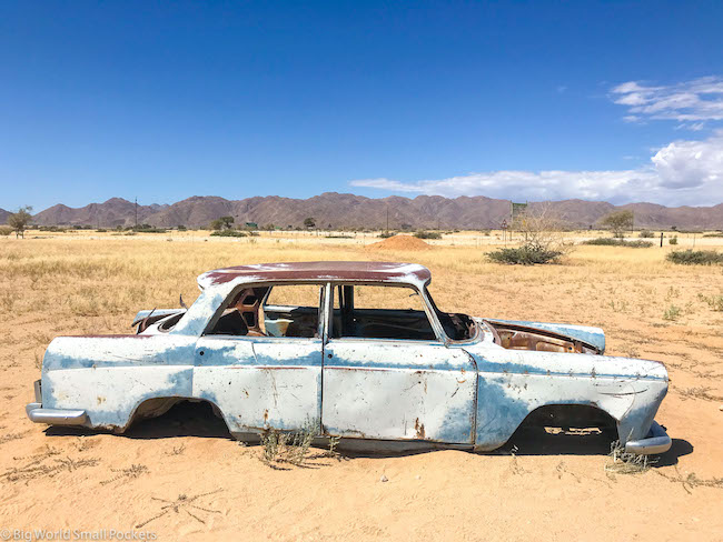 Namibia, Solitaire, Car