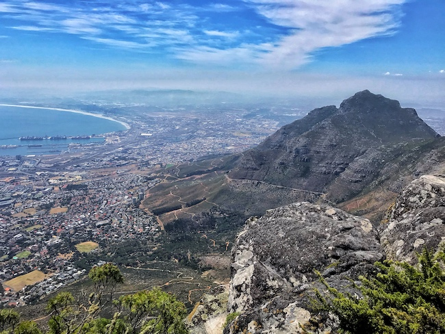 South Africa, Cape Town, Table Mountain Summit