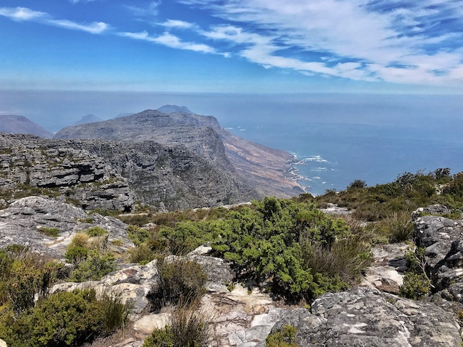 South Africa, Cape Town, Table Mountain Top
