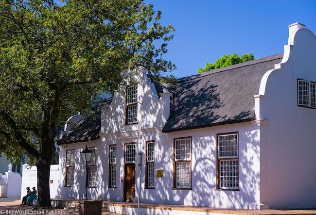 South Africa, Stellenbosch, Historic Building