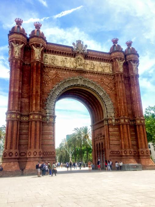 Spain, Barcelona, Arc de Triomf