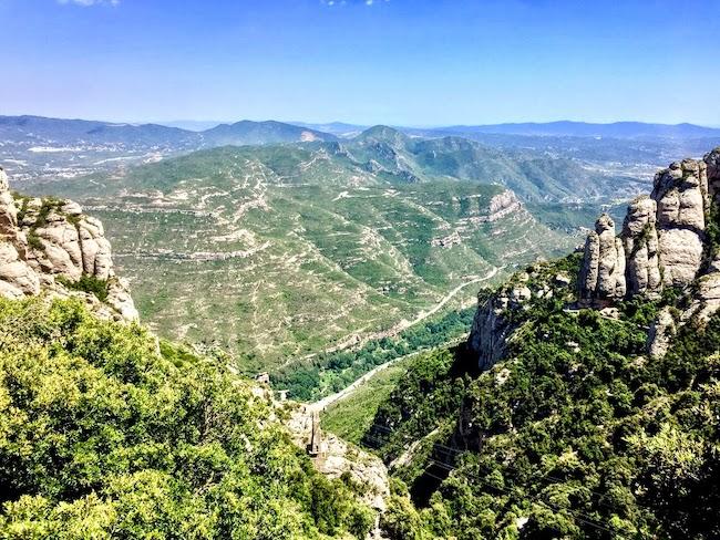 Spain, Barcelona, Montserrat