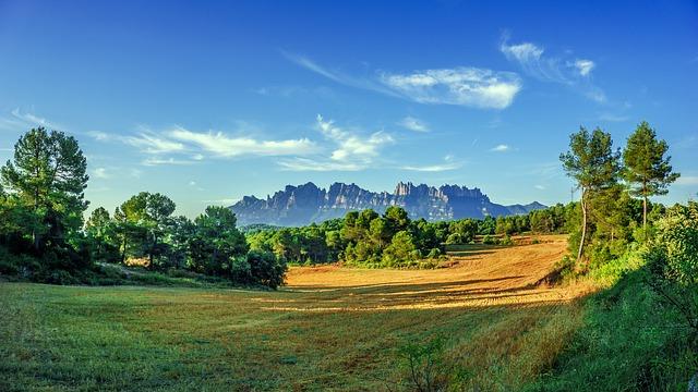 Spain, Montserrat, View